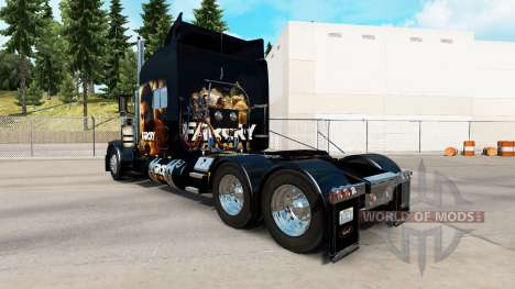 Skin Far Cry Primal for the truck Peterbilt 389 for American Truck Simulator