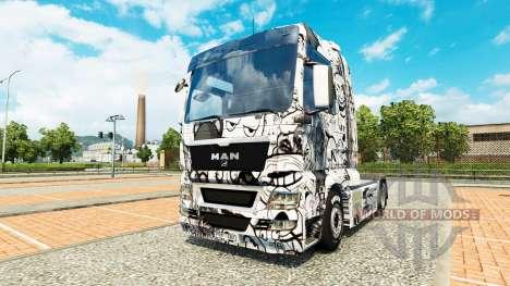 Memes skin for MAN truck for Euro Truck Simulator 2