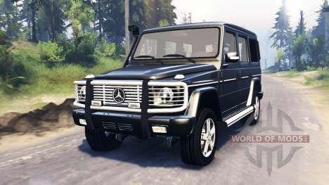 Mercedes-Benz G 500 v3.0 for Spin Tires