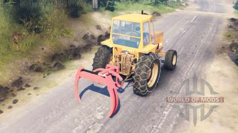 Valmet 502 [updated] for Spin Tires