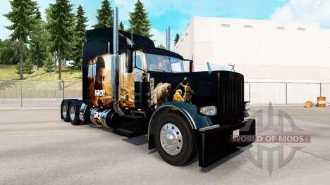 Skin Far Cry Primal for the truck Peterbilt 389 for American Truck Simulator