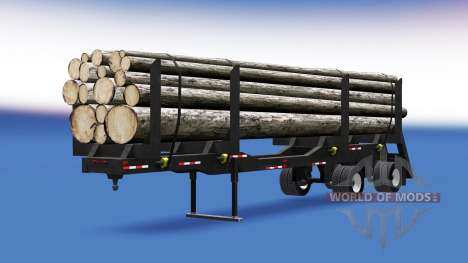 A semi-trailer truck for American Truck Simulator
