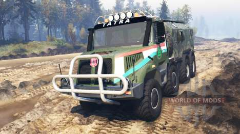 Tatra 163 Jamal 8x8 v3.0 for Spin Tires