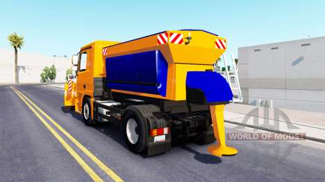 Snow Mercedes-Benz Actros for American Truck Simulator