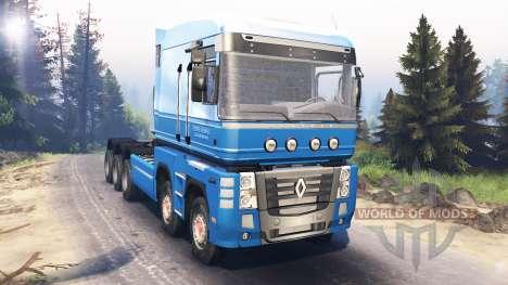 Renault Magnum 10x10 v5.0 for Spin Tires