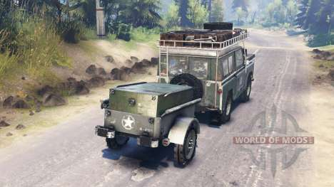 Land Rover Series I for Spin Tires
