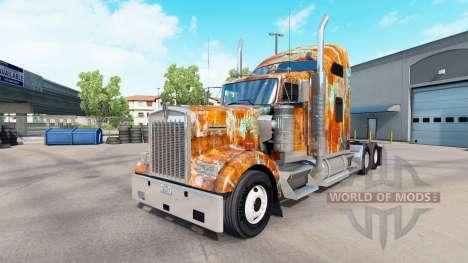 Skin Rust on the truck Kenworth W900 for American Truck Simulator