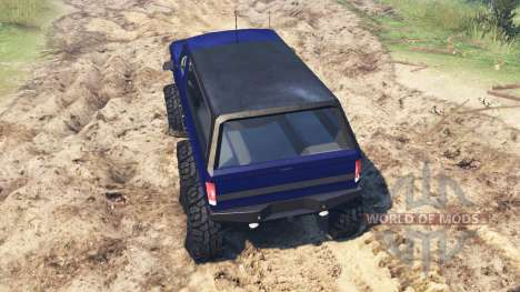 Ford Bronco 6x6 for Spin Tires