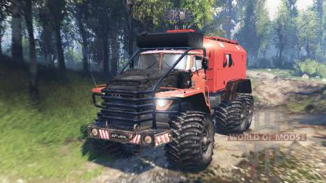 Ural-4320 Polar Explorer v2.0 for Spin Tires