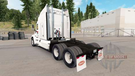Pride Transport skin for the truck Peterbilt for American Truck Simulator