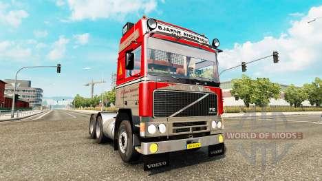 Volvo F10 P. Bjarne Andersen for Euro Truck Simulator 2
