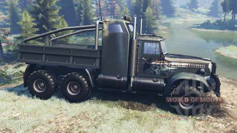 KrAZ-255 B1 Tattoo for Spin Tires