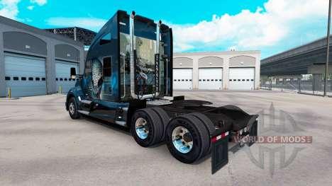 Skin XCOM2 on a Kenworth tractor for American Truck Simulator