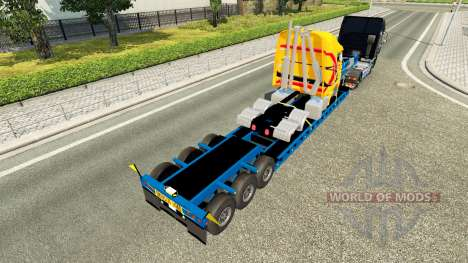 Low sweep with a broken truck for Euro Truck Simulator 2