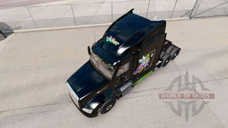 Joker skin for the truck Peterbilt for American Truck Simulator