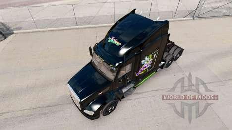 Joker skin for the truck Peterbilt for American Truck Simulator