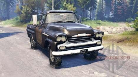 Chevrolet Apache 1959 v2.0 for Spin Tires