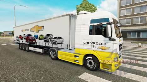 Skins Car Company on trucks for Euro Truck Simulator 2