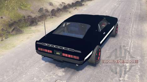 Ford Mustang Shelby GT500 1969 for Spin Tires