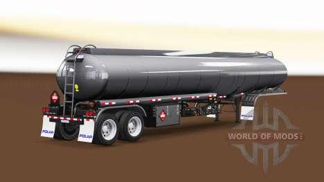 Fuel semi-trailer for American Truck Simulator