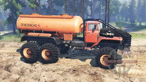 Ural-4320 Polar Explorer for Spin Tires
