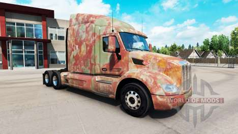 Skin Abstract for truck Peterbilt for American Truck Simulator