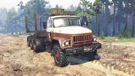 ZIL-131 8x8 for Spin Tires