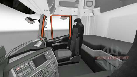 New interior tractors Iveco for Euro Truck Simulator 2