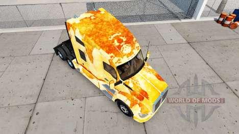Skin Rust on the truck Kenworth for American Truck Simulator