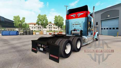 Skin San Francisco on the truck Kenworth W900 for American Truck Simulator