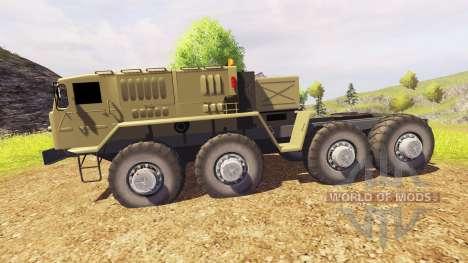 MAZ-537 for Farming Simulator 2013
