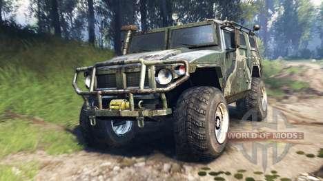 GAZ-2975 Tiger v3.0 for Spin Tires