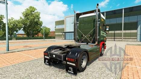 Edwards Transport skin for Scania truck for Euro Truck Simulator 2