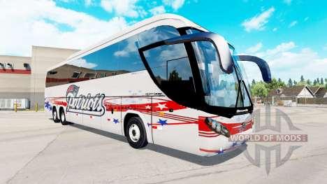 Skin Patriots a bus Mascarello Roma 370 for American Truck Simulator