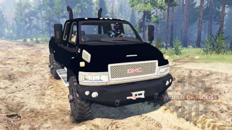 GMC TopKick C4500 6x6 for Spin Tires