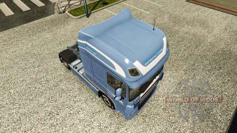 Skin Space Cab. DAF for Euro Truck Simulator 2