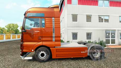 MAN TGX v1.01 for Euro Truck Simulator 2