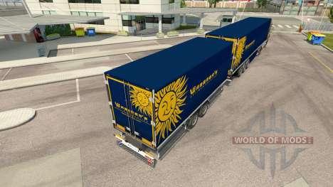 Semi-Trailers Krone Gigaliner [Waberers] for Euro Truck Simulator 2