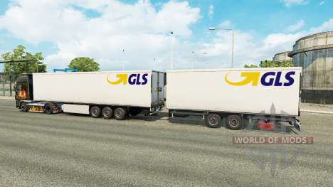 Semi-trailers Krone Gigaliner [GLS] for Euro Truck Simulator 2