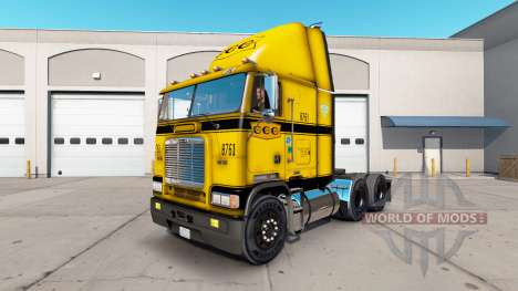 Skin on CCC truck Freightliner FLB for American Truck Simulator