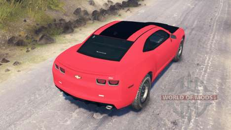 Chevrolet Camaro SS for Spin Tires