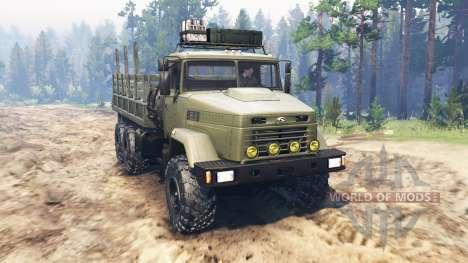 KrAZ-6322 for Spin Tires