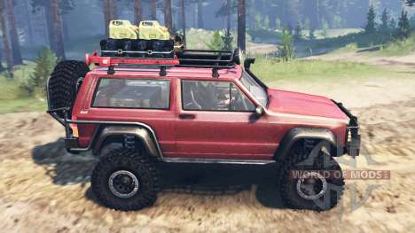 Jeep Cherokee SE for Spin Tires