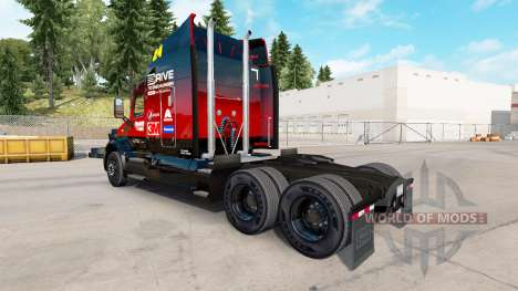 Skin Hendrick v2.0 tractor Peterbilt for American Truck Simulator