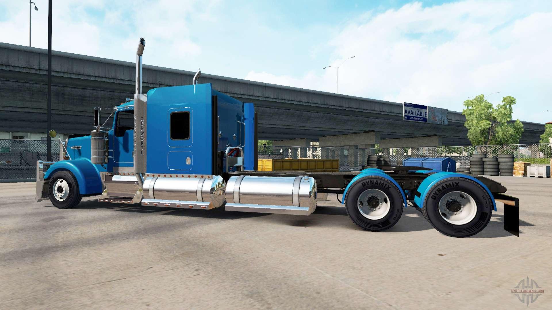 Kenworth W900 V1 3 For American Truck Simulator