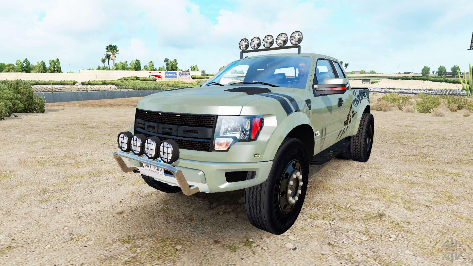 3fd8a43480 Ford F-150 SVT Raptor v1.4 for American Truck Simulator