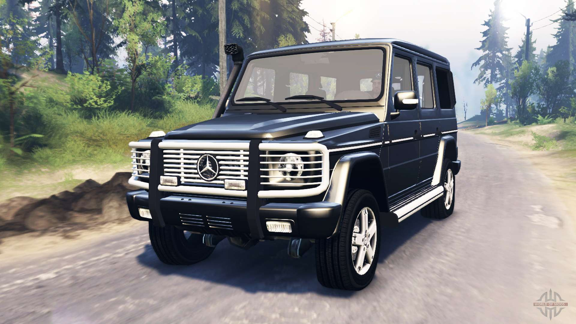 Mercedes benz g 500 v3 0 for spin tires for Mercedes benz tire