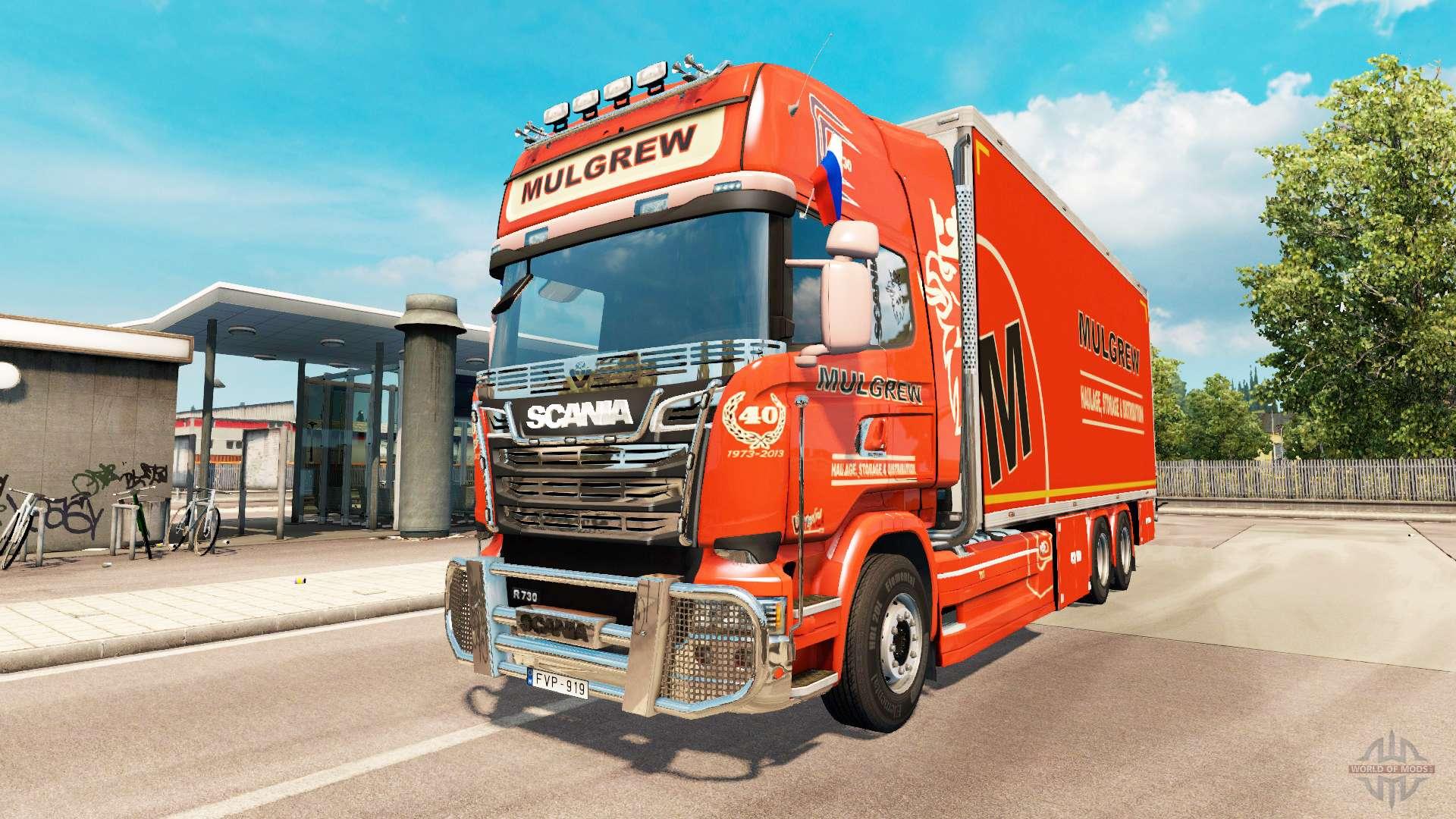 scania r730 tandem for euro truck simulator 2. Black Bedroom Furniture Sets. Home Design Ideas