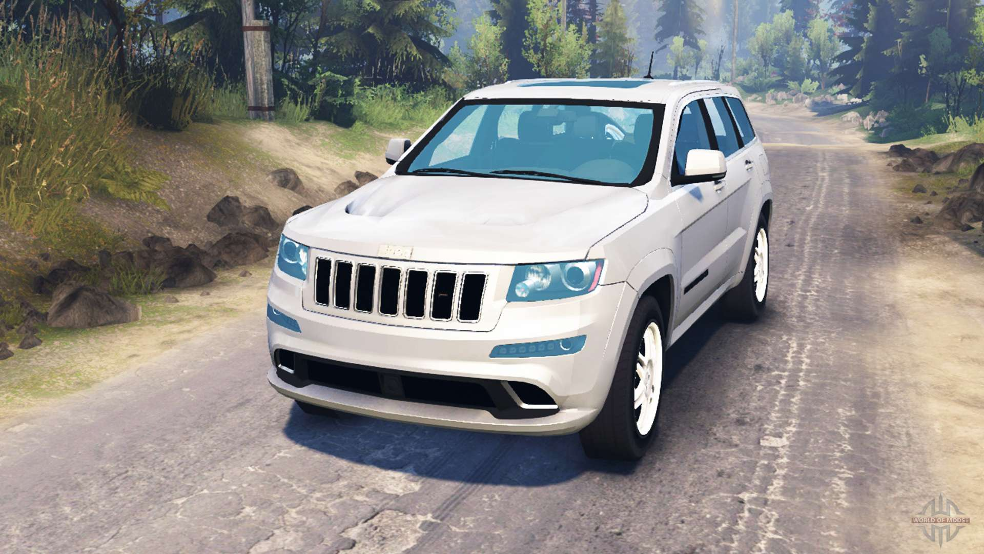 Jeep Grand Cherokee Tires >> Jeep Grand Cherokee for Spin Tires