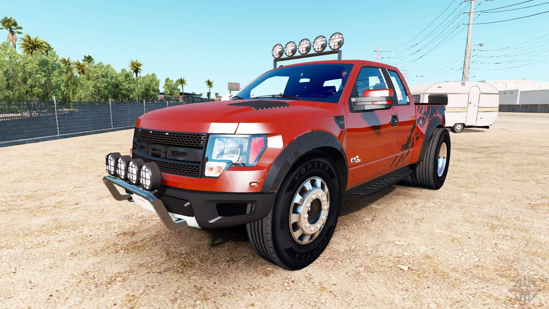 3811cd7091 Ford F-150 SVT Raptor  urban  for American Truck Simulator